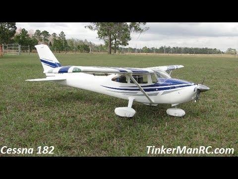 Top Flite Cessna 182 Skylane Flight - UCLEC1xjMQ-fBWyAD6LqH3ZA