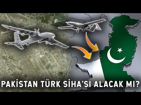 Pakistan'dan Türk SİHA'sı Mesajı