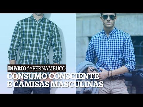 On Trend: camisas masculinas descoladas e brechós