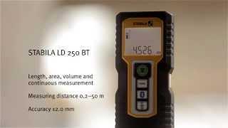 Laserkaugusmõõdik Stabila LD 250 BT 0,2 - 50m