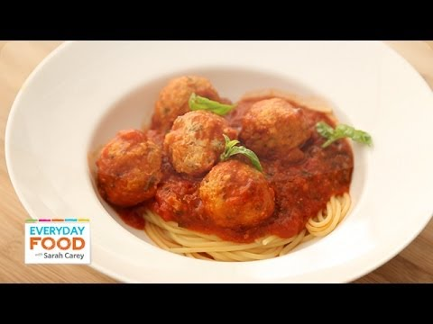 Turkey Meatballs and Spaghetti - Everyday Food with Sarah Carey - UCl0kP-Cfe-GGic7Ilnk-u_Q