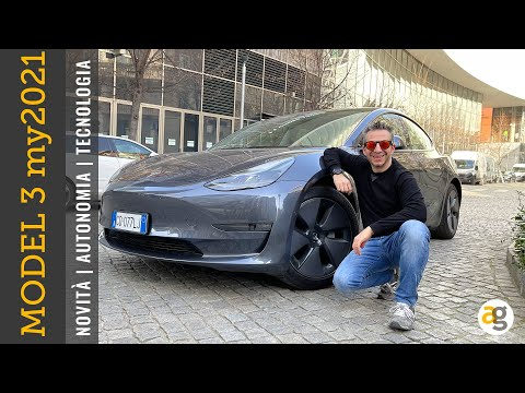 NUOVA TESLA MODEL 3 MY 2021. Autonomia,  …