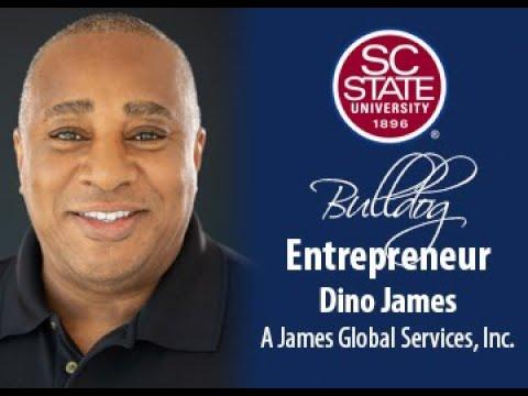 "SC State Celebrates ""Bulldog Entrepreneur�—Dino James"