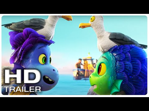"""Movie Trailer : LUCA """"What's Wrong With You Stupido!"""" Trailer (NEW 2021) Disney, Animated Movie HD"""