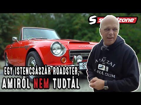 Speedzone használtteszt: Datsun Roadster Fairlady 2000: Egy istencsászár roadster, amiről nem tudtál