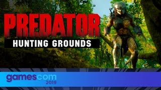 Predator: Hunting Grounds - FULL Presentation   Gamescom 2019  Opening Night Live
