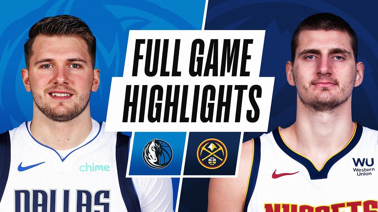 MAVERICKS at NUGGETS | FULL GAME HIGHLIGHTS | March 13, 2021