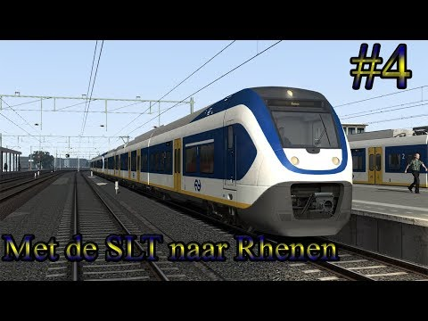 Met de SLT naar Rhenen  Train Simulator 2017 Livestream 4