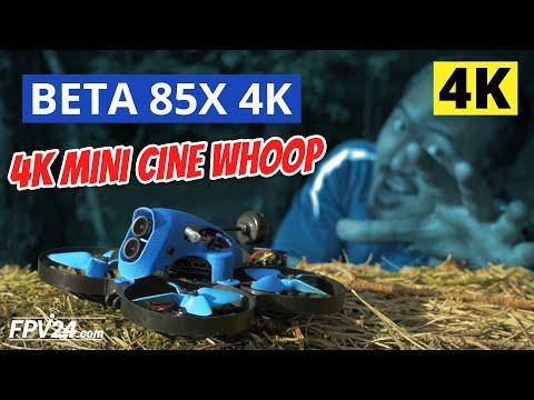 BETA 85X 4K Cine Whoop von BETAFPV – TEST und erster Eindruck