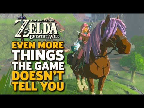 Even More Things I Wish I Knew Before I Started Zelda: Breath of the Wild - UCbu2SsF-Or3Rsn3NxqODImw