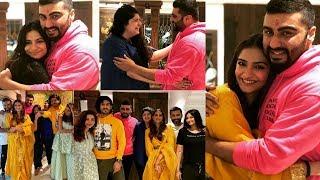 Sonam Kapoor, Arjun Kapoor, Anshula Kapoor Celebrate Raksha Bandhan Together