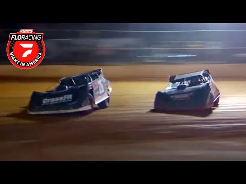Castrol FloRacing Night in America Feature   411 Motor Speedway 10.12.2021 - dirt track racing video image