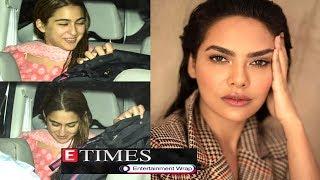 Sara Ali Khan receives Kartik Aaryan at airport; Esha Gupta thanks Mumbai Police for help