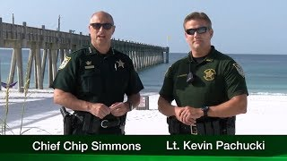 Escambia County Sheriff's Office Deputy Tackles and Punches Drunk Man Repeatedly on 7/14/19