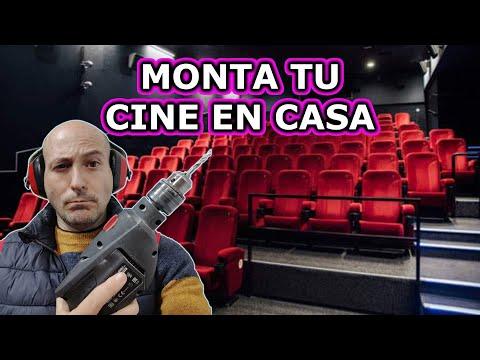 ¡¡ CONVIERTO EN SALA DE CINE EL CUARTO DE LA TELE !!