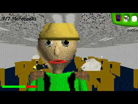 CAMPING BALDI in Baldi's Basics in Education and Learning