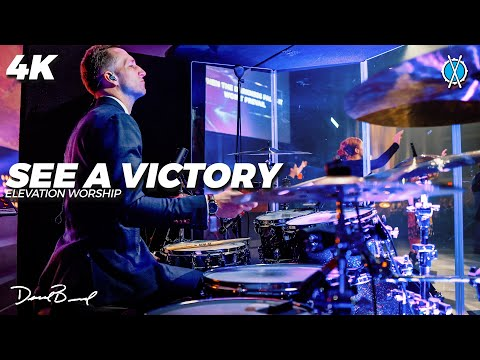See A Victory Drum Cover 4K // Elevation Worship // Daniel Bernard