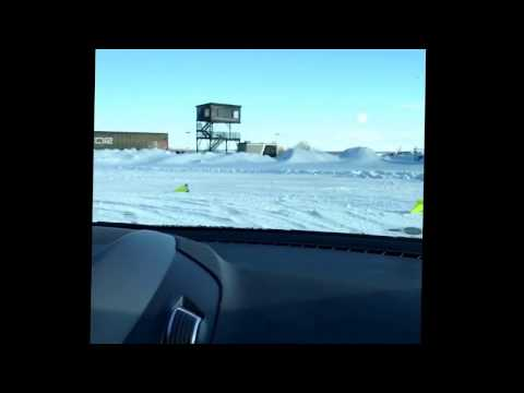 Winter Tire Testing on the iCar General Tire Testing Grounds in Canada by Under The Hood radio show