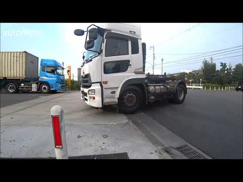 Truck-drivers driving instructions (watch and learn)
