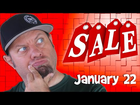 Ham Radio Shopping Deals for January 22nd