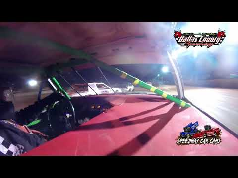 #14 Skyler Storment - 4 Cylinder - 6-18-2021 Dallas County Speedway - In Car Camera - dirt track racing video image