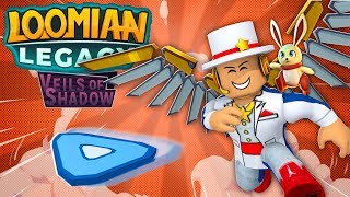 LOOMIAN LEGACY IS HERE! - Gameplay, Battles, Trades + ROBUX Card Giveaway - WHOLE GAME PART 1