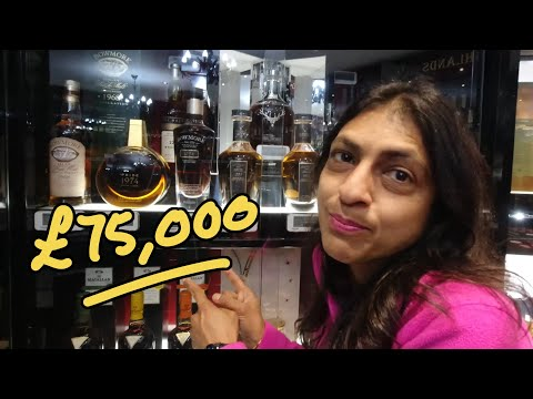 Deepa Finds a £75,000 Bottle at Hard to Find Whisky - Whisky Vlog - UC8SRb1OrmX2xhb6eEBASHjg