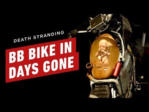 Death Stranding's BB on a Bike in Days Gone - UCKy1dAqELo0zrOtPkf0eTMw
