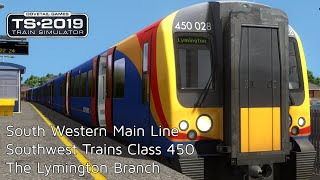 Train Simulator 2019: South Western Main Line -  Class 450 - The Lymington Branch