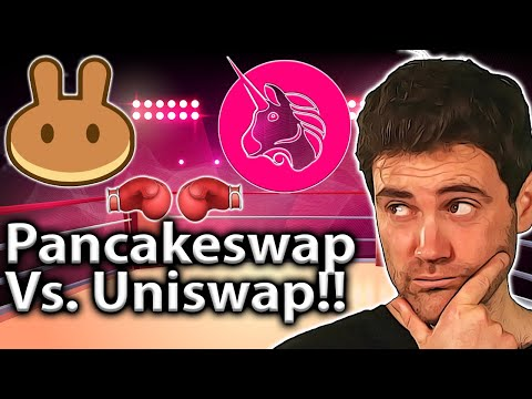 Uniswap or Pancakeswap: BATTLE of The DEXs!! 🥊