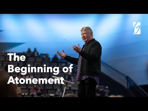 Gateway Church Live  The Beginning of Atonement by Pastor Robert Morris  January 17