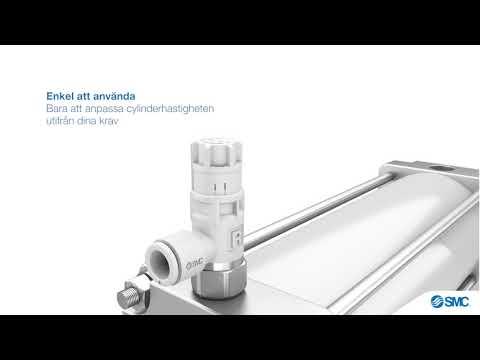 SMC | Strypventil: ASR & ASQ-Serien - Minskad luftförbrukning & förenklad hantering