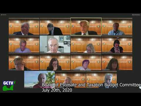 Board of Estimate & Taxation, July 20, 2020