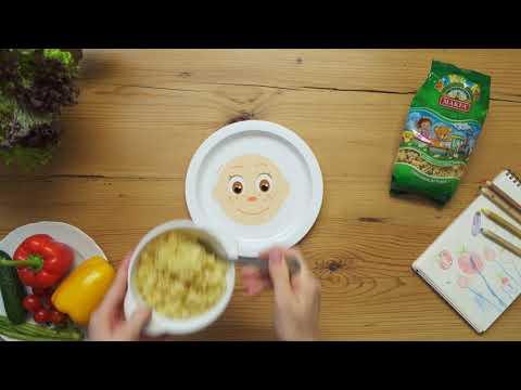 Детская тарелка MAKFA с Макфиками
