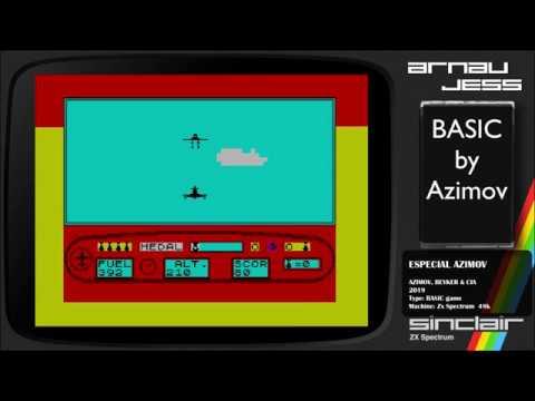 Especial Azimov (BASIC) Zx Spectrum