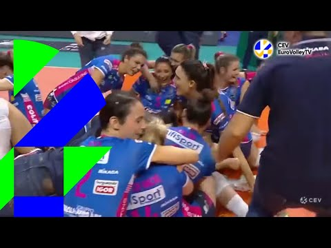 #SuperFinalsBerlin   NOVARA take #CLVolleyW crown for first time