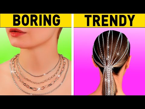 25 Easy HAIRSTYLE Hacks You Can Make In 1 Minute
