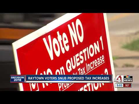 Raytown voters shut down proposed tax increases