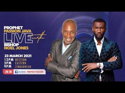 Prophetic Moment-LIVE! with Bishop Noel Jones and Prophet Passion Java