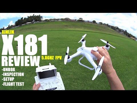 XINLIN X181 5.8Ghz FPV QuadCopter Review - [UnBox, Inspection, Setup, Flight Test] - UCVQWy-DTLpRqnuA17WZkjRQ