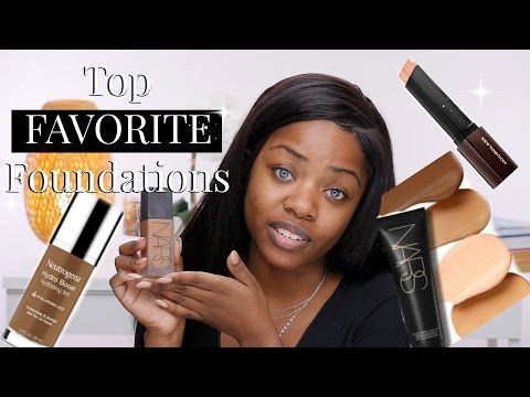 My FAVORITE Foundations | Cydnee Black