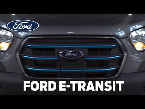 The All-Electric Ford E-Transit
