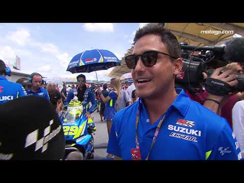 Hamish Daud Wyllie visited MotoGP? at Malaysia