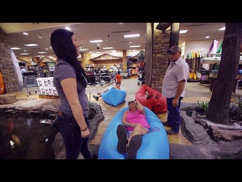 Fatboy Lamzac Lounger at Bass Pro Shops Granddaddy Store in Springfield, MO!
