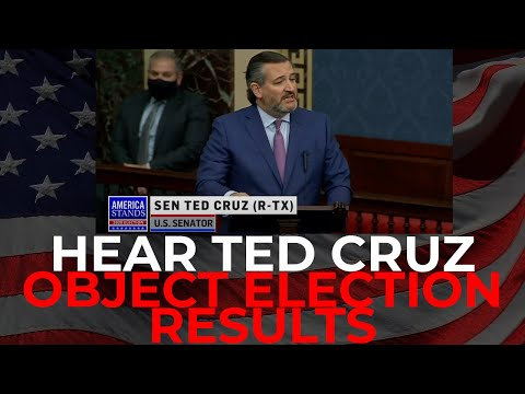 Ted Cruz Stands to OBJECT Election Results  Statement