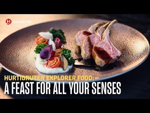 A feast for all your senses - Hurtigruten Explorer food