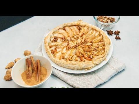 Яблочный пирог с карамелью | Ужин? Не проблема!