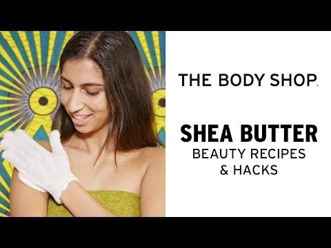 How To: DIY Shea Shower Body Exfoliator – The Body Shop