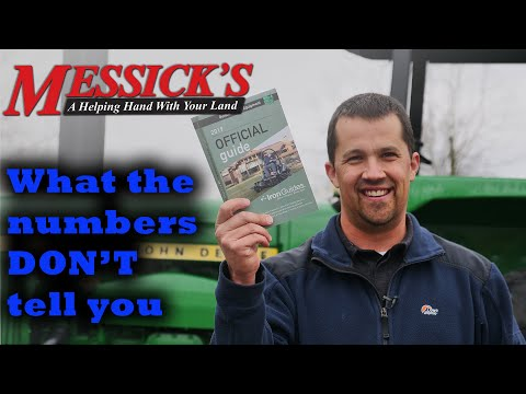 BLUE BOOK Tractor Values. Fact or Fiction? TMT Picture