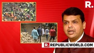 Mumbai Building Collapse: Maharashtra CM Fadnavis Focuses On Rescue Of Families Feared Trapped